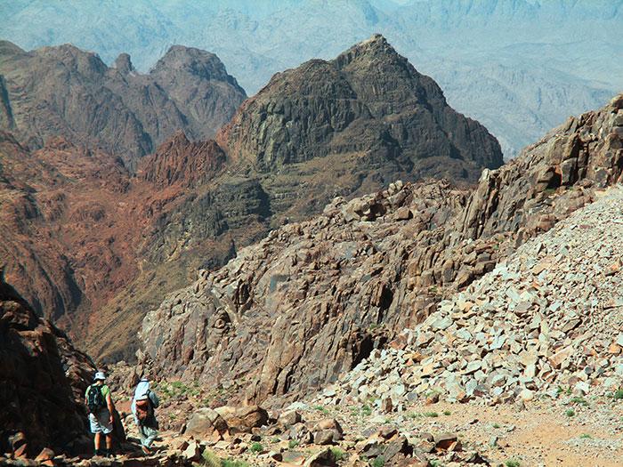 הר משה - הר סיני - ג'בל מוסא - סנטה קתרינה - דרום סיני